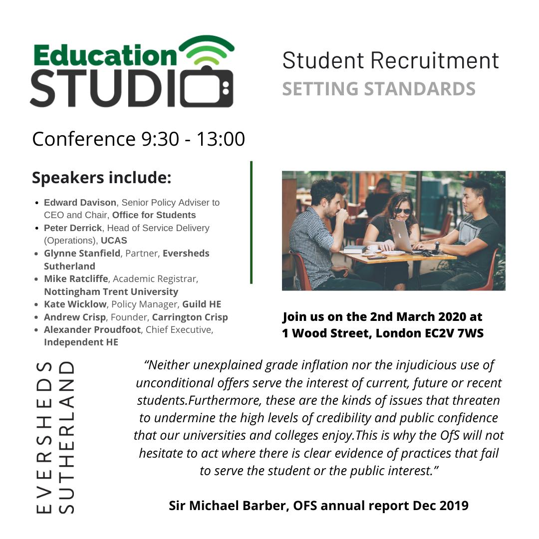 Student Recruitment 2020